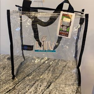 Officially Licensed Super Bowl LIV clear tote